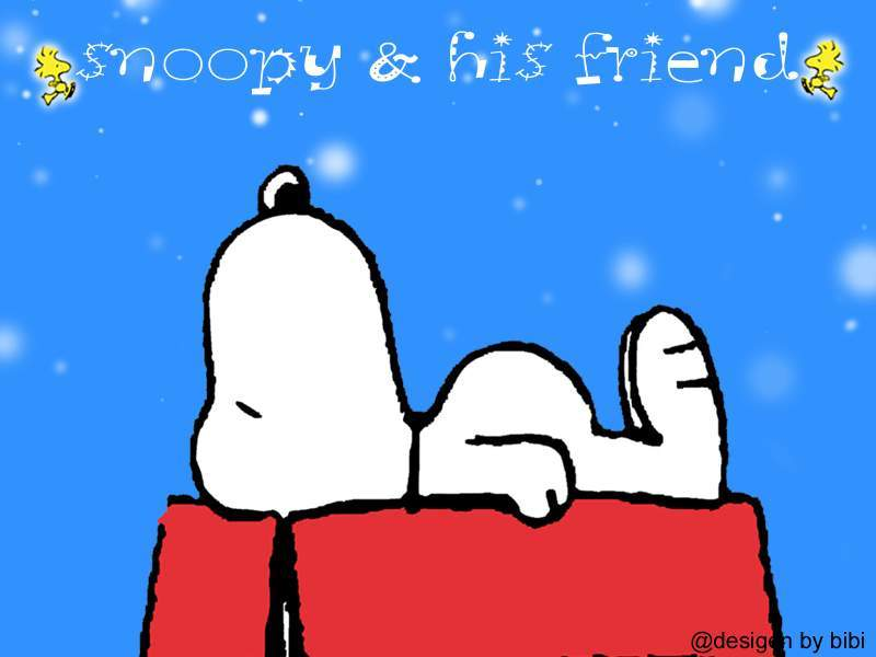 wallpaper snoopy